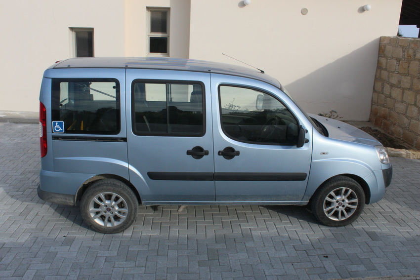 Large our wheelchair accessible car
